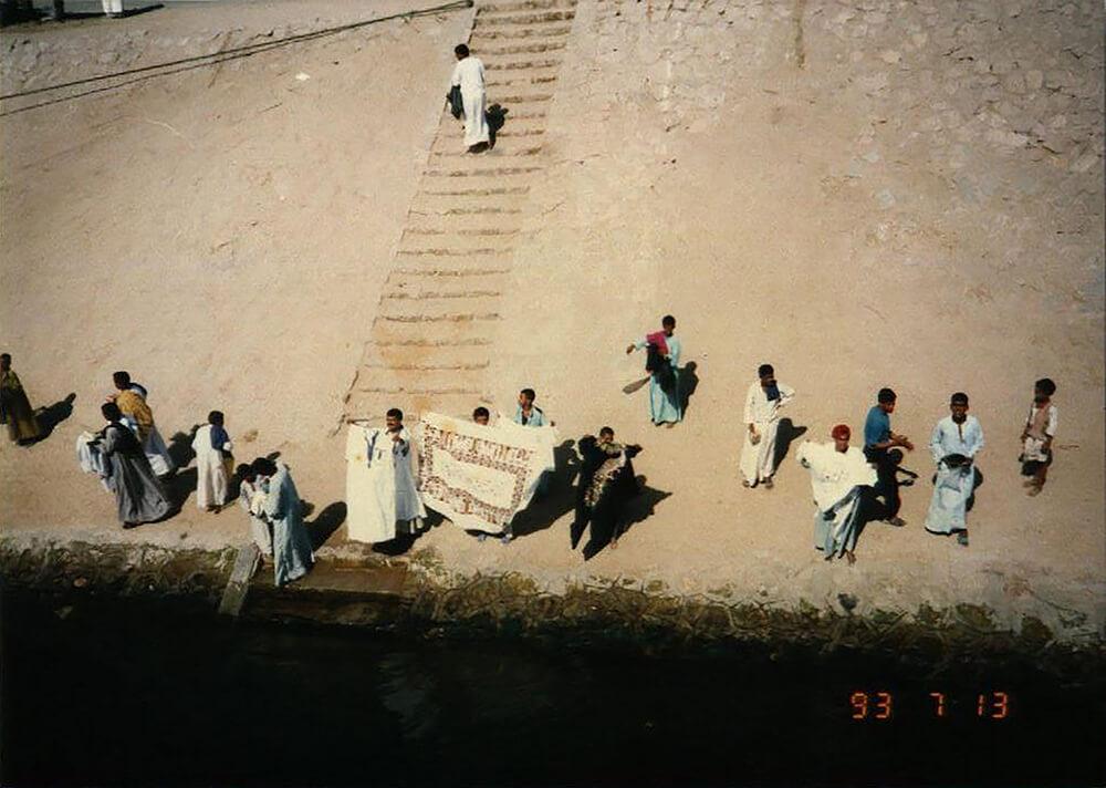 古代エジブト遺跡の発掘、美術館運営支援
